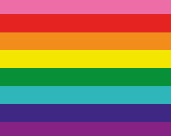 Original eight-stripe rainbow flag 1978-web-600